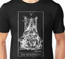 The Hierophant Tarot V Unisex T-Shirt
