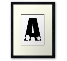 A is for Adipose Framed Print