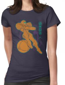 Anatomy of a Bounty Hunter Womens Fitted T-Shirt