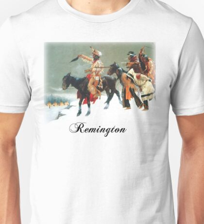 Remington - Return of the Blackfoot War Party Unisex T-Shirt