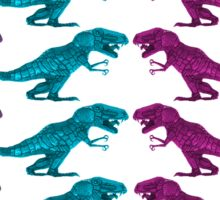 Colorful Dinosaur Pattern  Sticker