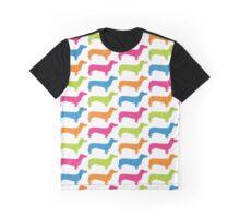 Funky Dachshund Graphic T-Shirt