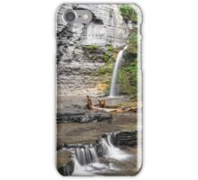 Waterfall at Eagle Cliff iPhone Case/Skin