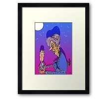 ..and to You a Major! Framed Print