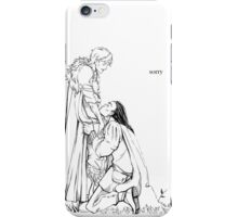thramsay-sorry iPhone Case/Skin