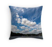 Broad Sky Throw Pillow