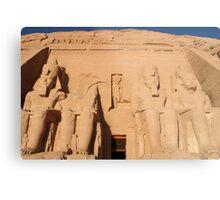 Abu Simbel  Metal Print