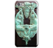 Doorknocker in Valletta iPhone Case/Skin