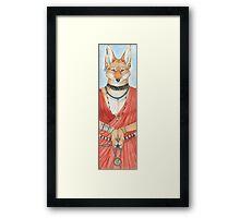Masai Jackal Framed Print