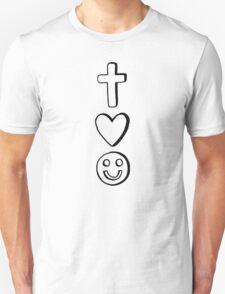 Christ, Love, and Joy T-Shirt