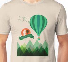 Hot Bear Ballooning Unisex T-Shirt