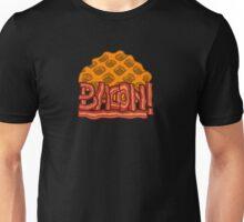 Waffle bacon logo Unisex T-Shirt