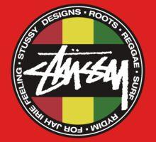 Reggae Stussy  Kids Tee