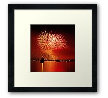 Italian Fire Framed Print