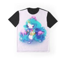 Ice Cream Octopus Queen Graphic T-Shirt