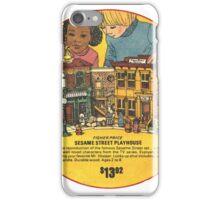 Fisher Price Sesame Street Playhouse Ad iPhone Case/Skin