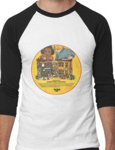 Fisher Price Sesame Street Playhouse Ad Men's Baseball ¾ T-Shirt