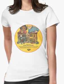Fisher Price Sesame Street Playhouse Ad Womens Fitted T-Shirt