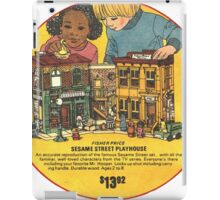Fisher Price Sesame Street Playhouse Ad iPad Case/Skin