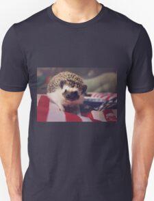 Patriotic Hedgehog Unisex T-Shirt