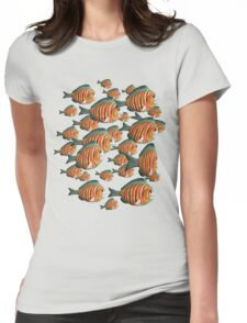 fishy tee * Womens Fitted T-Shirt