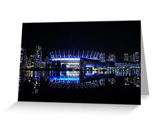 BC Place Stadium Greeting Card