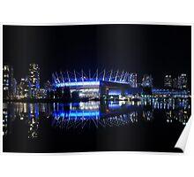 BC Place Stadium Poster