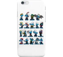 Supernatural Smurfs iPhone Case/Skin