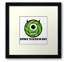 Spike Wazowski Framed Print