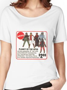 Mego Planet of the Apes Action Figures Women's Relaxed Fit T-Shirt