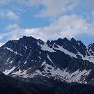 Glacier Mountain by LinneaJean