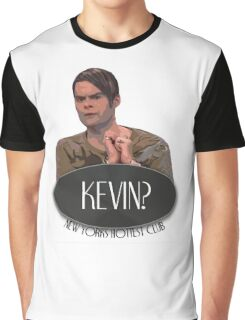 'Kevin?' - Stefon, Saturday Night Live Graphic T-Shirt