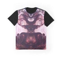 Pouncy Cuddle Monster Alien Cat Graphic T-Shirt