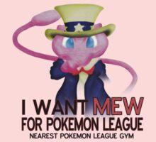 I want mew! One Piece - Short Sleeve