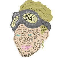 Holtzmann Quotes Typography Photographic Print