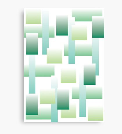90s afterski - green Canvas Print