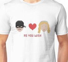 Westley and Buttercup, The Princess Bride - As You Wish, Pixels Unisex T-Shirt