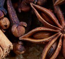 cinnamon spice Sticker