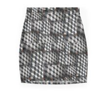 Cubes Mini Skirt