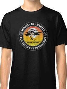 Karate Kid - Mr Miyagi Do Black Distressed Variant Classic T-Shirt