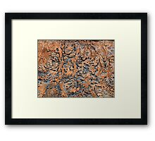 Abstract Wall Framed Print