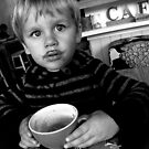 hot chocolate moustache by geof