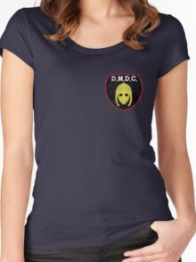 DMDC Detectorists Badge - Distressed Women's Fitted Scoop T-Shirt