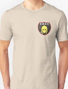 DMDC Detectorists Badge - Distressed Unisex T-Shirt