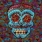 'Sweet Sugar Skull #3' by ellejayerose