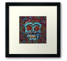 'Sweet Sugar Skull #3' Framed Print