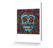 'Sweet Sugar Skull #3' Greeting Card