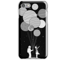 Between planets and balloons. iPhone Case/Skin