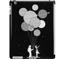 Between planets and balloons. iPad Case/Skin