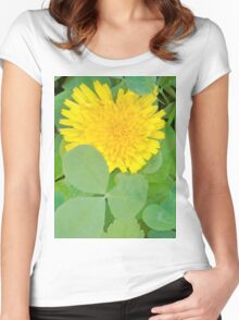 The Sun . Women's Fitted Scoop T-Shirt